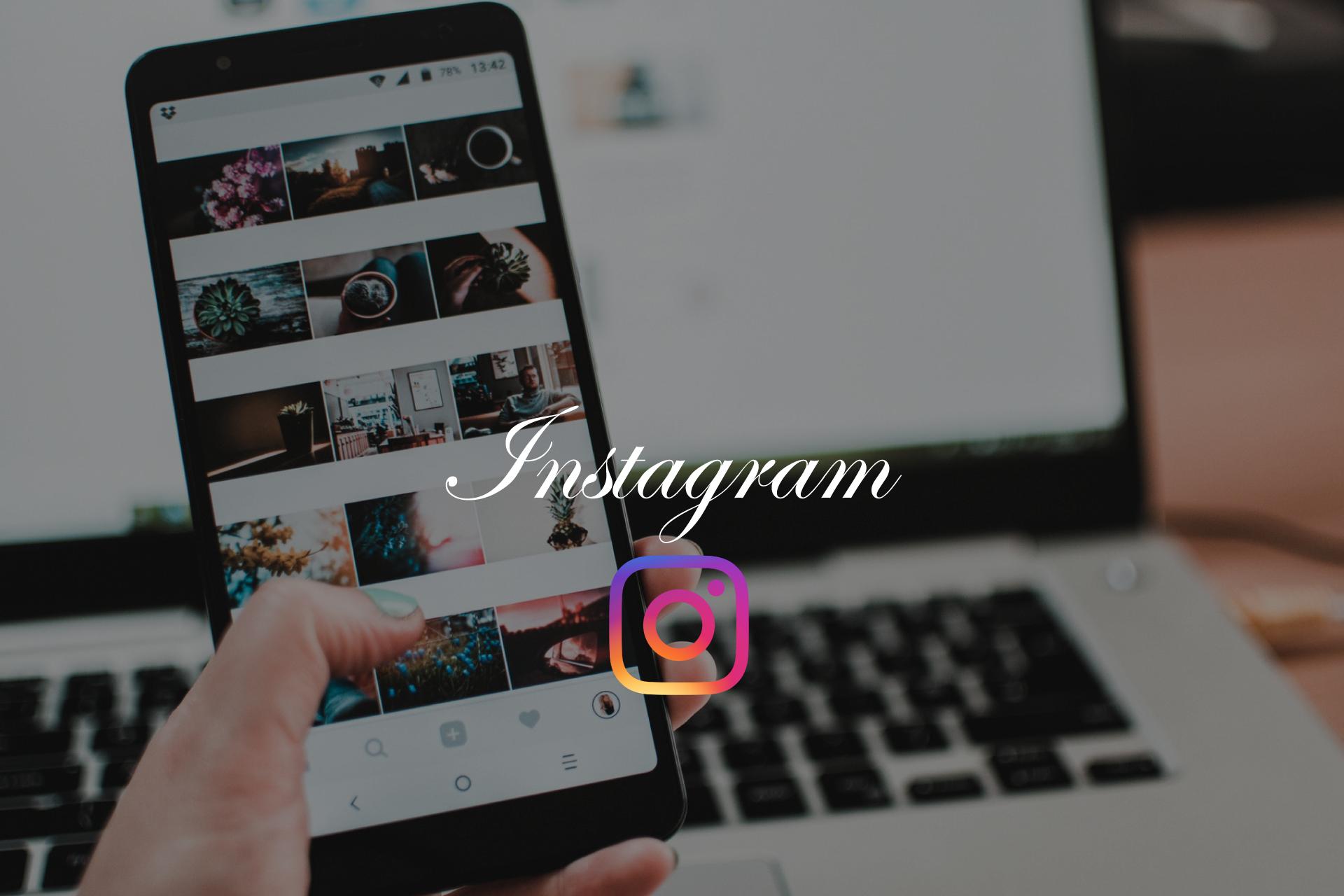 Instagramアプリからそのまま写真を撮影して投稿する方法